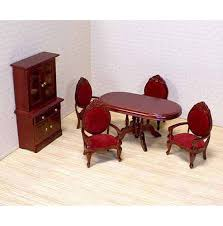 Dollhouse Dining Room Furniture Dollhouse Dining Room Furniture Set Doug