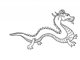 simple chinese dragon drawing kids dragon drawing pencil sketch