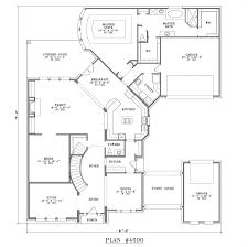 porte cochere house plans 4501 5000 s f