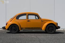 orange volkswagen beetle classic 1975 volkswagen beetle jeans coupe for sale 1603 dyler