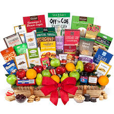 gourmet fruit baskets signature series fruit and gourmet gift basket by