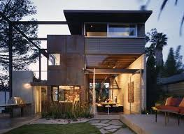Modern Home Design Usa Modern House Design With Exposed Concrete Block Construction By