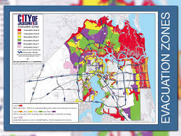 Jacksonville Florida Map Firstcoastnews Com Are You In An Evacuation Zone Click Here To