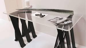 bureau avec treteau bureau treteau trteau y u plateau de tolix bureaux individuels with