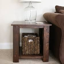 Build Your Own End Table Plans by Diy End Table Gallery Dwellinggawker