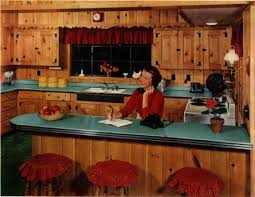 knotty pine kitchen cabinets knotty pine kitchens a look that s due for a comeback retro
