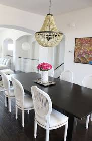 Best Black And White Dining Room Images On Pinterest Home - Black and white dining table with chairs