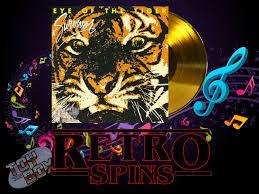 the box retro spins survivor eye of the tiger