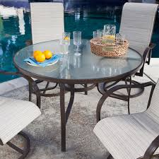 Dining Table With 4 Chairs Price Outdoor Patio Furniture 5 Piece Dining Set With 4 Padded Sling