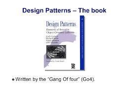 of four design patterns plab tirgul 12 design patterns ppt