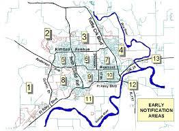Kansas State Campus Map by Neighborhood Notifications Manhattan Ks Official Website