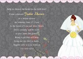 make your own bridal shower invitations wedding dress gray and pink bridal shower cards ewbs012 as low as