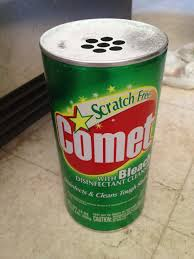 How To Clean A Bathtub With Comet Best Floor Cleaner Sprinkle Comet On The Floor Then In A Bowl