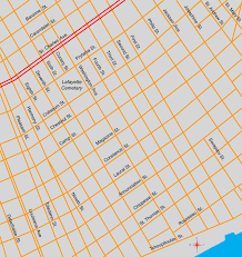 Map New Orleans New Orleans Garden District Map City Sightseeing Tours