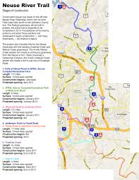 raleigh greenway map 8 of paved neuse greenway to open this summer