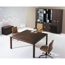 bureau carré table de bureau patio bureau moderne