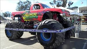 monster truck crash videos tropical thunder monster trucks wiki fandom powered by wikia