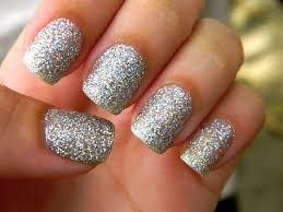 best 25 silver sparkle nails ideas on pinterest white glitter