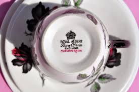vintage royal albert masquerade 1950s teacup saucer and tea plate