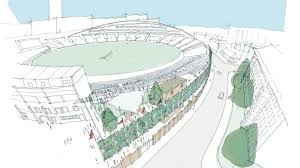 surrey reveal plans to redevelop kia oval cricket news sky sports
