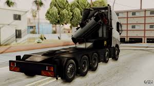 volvo sa trucks volvo fh euro 6 10x4 high cab for gta san andreas