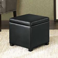 Black Ottoman Storage Bench Ottoman Black Ottoman With Storage Full Size Of Room Bench