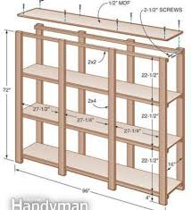Basement Wooden Shelves Plans by Storage Shelf For The Basement Making Wood Shelves For Garage