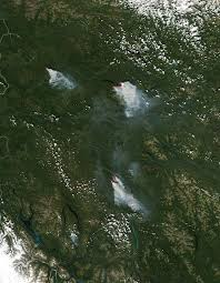 Wildfires In Bc July 2012 by Wildfires In The Yukon Natural Hazards