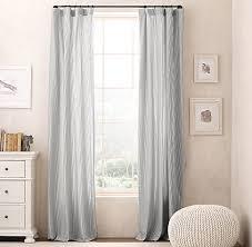 Ticking Stripe Curtains Dyed Ticking Stripe Drapery Panel