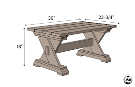 Free Diy Outdoor Furniture Plans by Small Outdoor Coffee Table Rogue Engineer