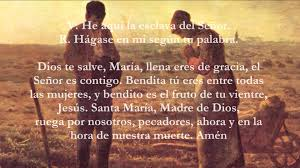spanish thanksgiving words catholic prayers angelus spanish youtube