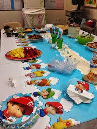 Kitchen Shower Ideas Superior Super Mario Baby Shower Part 1 Super Mario Baby Shower