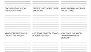 metaphor and simile worksheet