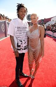 amber rose alters wiz khalifa tattoo to look like slash daily