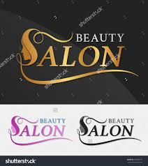 salon stock photos images pictures shutterstock beauty logo design