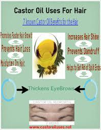 Castor Oil For Hair Loss Castor Oil Uses For The Hair Castor Oil Can Benefit The Hair In