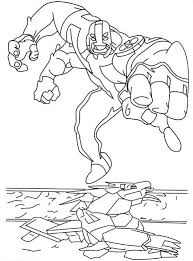 arms ben 10 coloring pages coloringstar