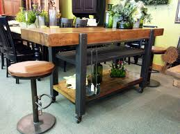 industrial style kitchen islands unique custom made vintage industrial bar mid century a crafted