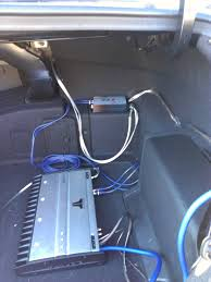 how to aftermarket subwoofer u0026 amp hyundai forums hyundai forum