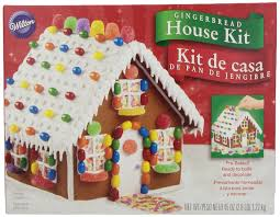 wilton holiday gingerbread cottage house amazon com grocery