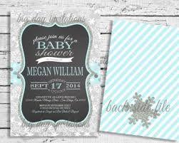 templates lovely free winter baby shower invitations templates