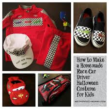 Lighting Mcqueen Halloween Costume by Homemade Race Car Driver Halloween Costume For Kids Halloween