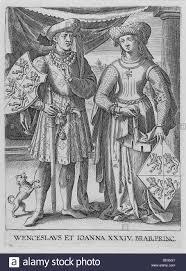 wenceslaus i duke of luxembourg and joanna duchess of brabant