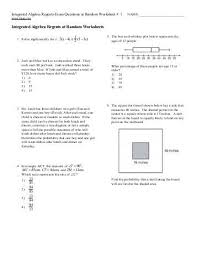 all worksheets integrated math 2 worksheets printable