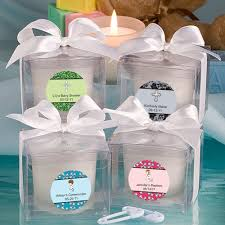 christening party favors baptism candles personalized label