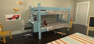 Loft Bed Frame With Desk Twin Loft Bed With Desk And Chairs Cozy Twin Loft Bed With Desk