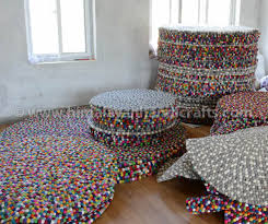 Nepal Felt Ball Rug Felt Ball Rugs And Dutch Carpets