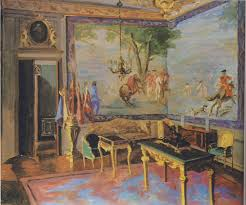 Oval Office Paintings by Winston Churchill Painting In France 1948 Their Studios