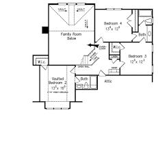 craftsman style house plan 4 beds 3 5 baths 2619 sq ft plan 927 floor plan upper floor plan