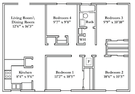 single house plan floor plan of a house 4 bedroom house plans wonderful small free